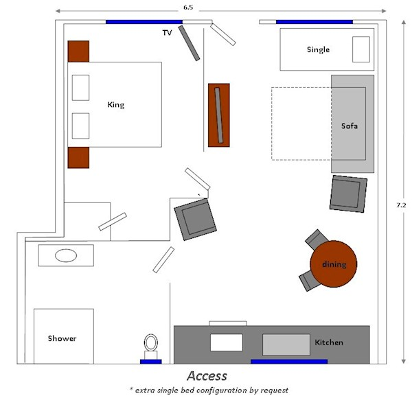 Access Room Plan